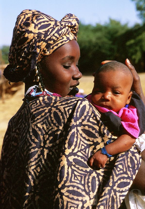 African Women And Child