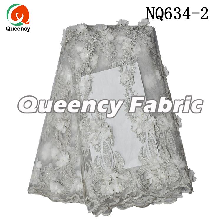 African Lace Fabrics 5 Yards French Fabric