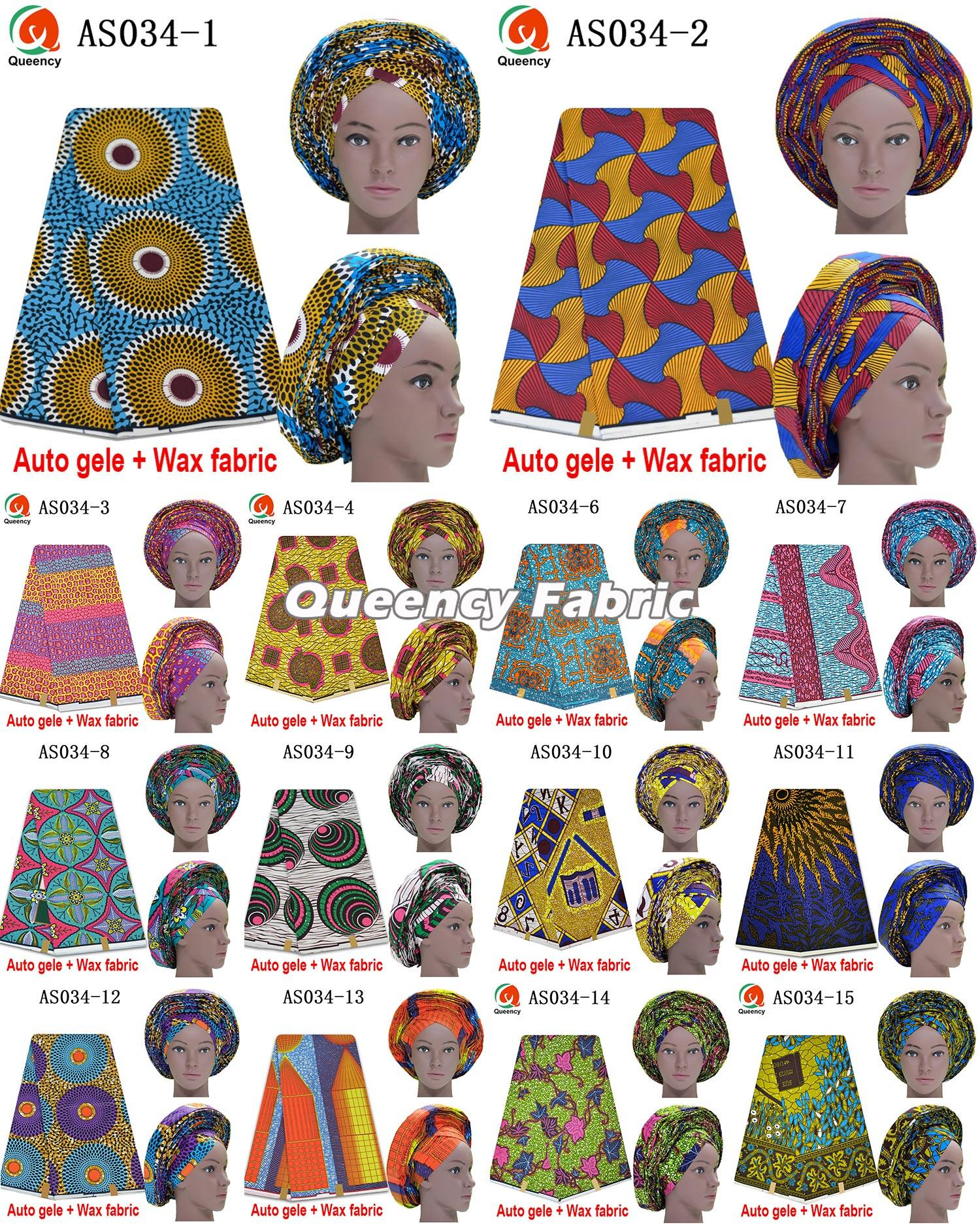 Auto Gele Match Wax Fabric Collection