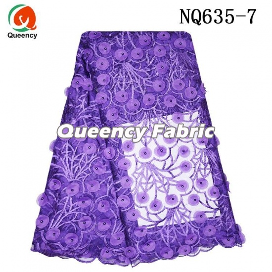 African Tulle Lace Fabric 3d Handmade Applique