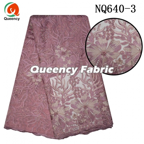Tulle Lace Fabric African French Net Embroidery